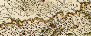 Palaestina, des heiligen Landes Beschreibung mit sampt den anstossenden Laendern und Voelctern alss die Ammoniter Munster's Map of the Holy Land (1588) Date: 1550 Author: Sebastian Munster Dwnld: Full Size (4.56mb) Source: Library of Congress Print Availability: See our Prints Page for more details pff This map isn't part of any series, but we have other maps of the Middle East that you might want to check out. A handsome […]