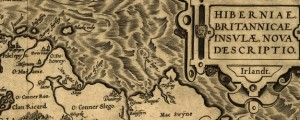 Hiberniae, Britannicae Insvlae nova descripto Ortelius' Map of Ireland (1598) Date: 1572 Author: Abraham Ortelius Dwnld: Full Size (8.42mb) Source: Library of Congress Print Availability: See our Prints Page for more details pff This map isn't part of any series, but we have other maps of the British Isles that you might want to check out. Flemish mapmaker Abraham Ortelius made this map of Ireland in the late 16th Century....
