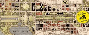 Map of Washington DC by National Capital Park and Planning Commission in 1941 US40 #8 WASHINGTON DC (Mall Plan, 1941) Date: 1941 Author: Ntl. Capital Park and Planning Comm. Dwnld: Full Size (7mb) Source: Library of Congress Print Availability: See our Prints Page for more details pff This map is part of a series depicting the 40 largest cities in the United States (as ranked by CBSA). This series will...