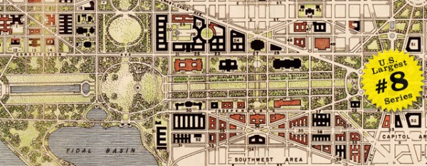 Washington dc mall redesign plan 1941 for Who designed the basic plan for washington dc