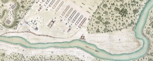 A plan of George Stadt Camp near the River Guantamano in the island of Cuba Map of the Guantanamo River in Cuba (1741) Date: 1741 Author: John Thomas the Elder Dwnld: Full Size (10.83mb) Source: Library of Congress Print Availability: See our Prints Page for more details pff This map isn't part of any series, but we have other maps of Cuba that you might want to check out. Map...