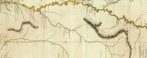 Course Of The River Mississipi, from the Balise to Fort Chartres; Taken on an Expedition to the Illinois, in the latter end of the Year 1765. By Lieut. Ross of the 34th Regiment Jeffry's Map of the River Mississippi (1775) Date: 1775 Author: Thomas Jefferys Dwnld: Full Size (11.13mb) Source: Rumsey Map Collection Print Availability: See our Prints Page for more details pff This map isn't part of any series,...
