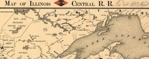 Rand McNally's map of the Illinois Central Railroad. From 1892. Map of Illinois Central R.R. Date: 1892 Author: Rand McNally Dwnld: Full Size (16.9mb) Print Availability: See our Prints Page for more details pff This map isn't part of any series, but we have other railroad maps that you might want to check out. Here's a map of the Illinois Central Railroad. I'm afraid that I'm not all that knowledgeable,...