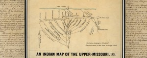 Indian map of the Upper-Missouri Indian Map of the Upper Missouri River (1801) Date: 1801 Author: J G Kohl Dwnld: Full Size (2.60mb) Source: Library of Congress Print Availability: See our Prints Page for more details pff This map isn't part of any series, but we have other maps of the U.S. Midwest that you might want to check out. Another traced map by noted German geographer and map collector...