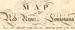 Map of the Red River in Louisiana King's Map of the Red River in Louisiana (1806) Date: 1806 Author: Nicholas King Dwnld: Full Size (5.09mb) Source: Library of Congress Print Availability: See our Prints Page for more details pff This map isn't part of any series, but we have other maps of Louisiana that you might want to check out. Map of the Red River, as drawn from sources gathered...