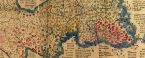 Haejwa chondo Oriental Map of the Korean Peninsula in 1822 Date: 1822 Author: Unknown Dwnld: Full Size (10.78mb) Source: Library of Congress Print Availability: See our Prints Page for more details pff This map isn't part of any series, but we have other maps of Korea that you might want to check out. Got nothing on this map of Korea. Korean readers: any help? Here's the Library of Congress page […]