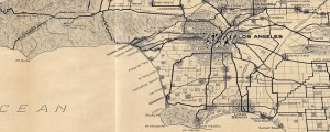 The Automobile Club of Southern California's map of Los Angeles and the San Gabriel Mountains. From 1915. Map of Los Angeles and the San Gabriel Mountains Date: 1915 Author: Automobile Club of Southern California Dwnld: Full Size (10.5mb) Print Availability: See our Prints Page for more details pff This map isn't part of any series, but we have other Southern California maps that you might want to check out. Southern...