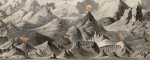 Tableau comparatif de la forme et de la hauteur des principales montagnes du globe terrestre Goujon's Comparative Mountain Heigths (1850) Date: 1850 Author: J Andriveau-Goujon Dwnld: Full Size (14.88mb) Source: Rumsey Map Collection Print Availability: See our Prints Page for more details pff This map isn't part of any series, but we have other educational maps that you might want to check out. Handsome, improbably-conical peaks; sinister, perpetually-erupting volcanoes; this […]