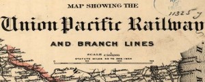 G.W. & C.B. Colton's map of the Union Pacific Railroad and its branch lines. From 1888. Map of Union Pacific R.R. Date: 1888 Author: G.W. & C.B. Colton & Co. Dwnld: Full Size (13mb) Print Availability: See our Prints Page for more details pff This map isn't part of any series, but we have other railroad maps that you might want to check out. Map of the Union Pacific railway...