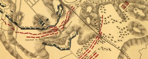 Battlefield in front of Franklin, Tenn Civil War Battlefield in Franklin, Tennessee (1864) Date: 1864 Author: W E Merrill Dwnld: Full Size (10.41mb) Source: Library of Congress Print Availability: See our Prints Page for more details pff This map isn't part of any series, but we have other maps of the U.S. Civil War that you might want to check out. In honor of the battle's 147th anniversary, I present […]
