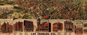 Los Angeles, Cal., population of city and environs 65,000. Litho. Elliott Pub. Co. Elliott's map of Los Angeles (1891) Date: 1891 Author: H.B. Elliott Dwnld: Full Size (18.80mb) Source: Library of Congress Print Availability: See our Prints Page for more details pff This map isn't part of any series, but we have other maps of Southern California that you might want to check out. H.B. Elliott's birdseye map of Los...