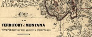 Map of the territory of Montana with portions of the adjoining territories : showing the gulch or placer diggings actually worked and districts where quartz (gold & silver) lodges have been discovered to January 1st 1865. Map of the Montana Territory Showing Mineral Strikes (1865) Date: 1865 Author: W W De Lacy Dwnld: Full Size (16.03mb) Source: Library of Congress Print Availability: See our Prints Page for more details pff...