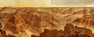 Panorama From Point Sublime Dutton's Panorama From Point Sublime, Grand Canyon (1882) Date: 1882 Author: Dutton Dwnld: Full Size (27.20mb) Source: Rumsey Map Collection Print Availability: See our Prints Page for more details pff This map isn't part of any series, but we have other maps of National Parks that you might want to check out. Geologist Clarence Dutton illustrated this fantastic panorama of the Grand Canyon of the Yellowstone [gmap] […]