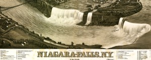 Wellge's Birdseye Map of Niagara Falls (1882) Wellge's Birdseye Map of Niagara Falls (1882) Date: 1882 Author: Henry Wellge Dwnld: Full Size (19.08mb) Source: Library of Congress Print Availability: See our Prints Page for more details pff This map isn't part of any series, but we have other maps of New York that you might want to check out. How awesome is this Henry Wellge birdseye of Niagara Falls? I...