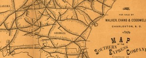 Map of the Southern Express Company Richardson&#039;s Railroad Map of the Southern U.S. (1884) Date: 1884 Author: Alfred M Richardson Dwnld: Full Size (9.22mb) Source: Library of Congress Print Availability: See our Prints Page for more details pff This map isn&#039;t part of any series, but we have other maps of railroads that you might want to check out. I rather like this old rail map. It&#039;s not hard to...