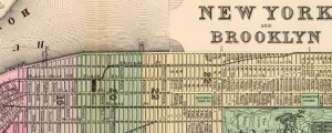 New York and Brooklyn Mitchell&#039;s Map of New York and Brooklyn in 1890 Date: 1890 Author: S A Mitchell Dwnld: Full Size (11.67mb) Source: Rumsey Map Collection Print Availability: See our Prints Page for more details pff This map isn&#039;t part of any series, but we have other maps of NYC that you might want to check out. A by-the-book but servicable street map of Manhattan and Brooklyn, made by...