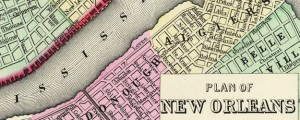 Plan of New Orleans Mitchell's Plan of New Orleans in 1890 Date: 1890 Author: S A Mitchell Dwnld: Full Size (5.25mb) Source: Rumsey Map Collection Print Availability: See our Prints Page for more details pff This map isn't part of any series, but we have other maps of Louisiana that you might want to check out. Another Samuel Mitchell street map. This one of New Orleans, Louisiana. For more map...