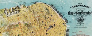 The Chevalier Map of San Francisco Chevalier Map of San Francisco (1912) Date: 1912 Author: August Chevalier Dwnld: Full Size (29.1mb) Source: DRMC Print Availability: See our Prints Page for more details pff This map isn't part of any series, but we have other maps of the great state of California that you might want to check out. The great folks over at the David Rumsey Map Collection just released […]