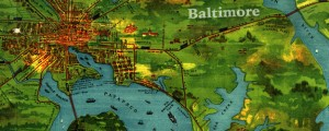 The United Railways and Electric Company of Baltimore, MD. Railway map of Baltimore (1910) Date: 1910 Author: United Railways Dwnld: Full Size (11.89mb) Source: Johns Hopkins Map Library Print Availability: See our Prints Page for more details pff This map isn&#039;t part of any series, but we have other maps of Maryland that you might want to check out. United Railway&#039;s map of Baltimore, Maryland&nbsp;[gmap] in 1910. A note of...