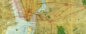 1918 map of the New York Central Railroad Map of NYC railroads (1918) Date: 1918 Author: unknown Dwnld: Full Size (18.75mb) Source: Wikimedia Commons Print Availability: See our Prints Page for more details pff This map isn't part of any series, but we have other maps of New York City that you might want to check out. Map of the railroads of New York City [gmap] in 1918. For more map...