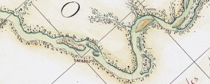 Francisco Requena's map of the Amazon River between Rio Caño Yauari and Avatiparaná. From 1788. Map of the Amazon between Rio Caño Yauari and Avatiparaná Date: 1788 Author: Francisco Requena Dwnld: Full Size (0.9mb) Print Availability: See our Prints Page for more details pff This map isn't part of any series, but we have other maps of exploration that you might want to check out. In honor of the large...