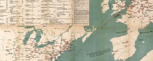 J.B. Metzler's map of Immigrants to North America (German). From 1922. Immigrants to North America Date: 1853 Author: J.B. Metzler Dwnld: Full Size (13mb) Print Availability: See our Prints Page for more details pff This map isn't part of any series, but we have other thematic maps that you might want to check out. Lots of Germans, it seems, were making their ways to the United States in the mid-19th...
