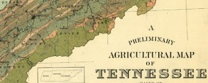 A preliminary agricultural map of Tennessee based on the distribution of geological formations Geology and Agriculture in Tennessee (1896) Date: 1896 Author: U of Tenn, Knoxville Dwnld: Full Size (9.29mb) Source: Library of Congress Print Availability: See our Prints Page for more details pff This map isn't part of any series, but we have other maps of Tennessee that you might want to check out. A late-19th Century agricultural map...