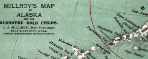 Millroy's map of Alaska and the Klondyke gold fields Millroy's map of Alaska and the Klondyke gold fields (1897) Date: 1897 Author: Milroy Dwnld: Full Size (8.80mb) Source: Library of Congress Print Availability: See our Prints Page for more details pff This map isn't part of any series, but we have other maps of Alaska that you might want to check out. The Millionth map on the Big Map Blog...