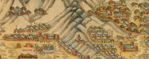 Truly gorgeous Chinese map of Beijing(?) from c.1888(?). Beijing Yi he yuan he ba qi bing ying Date: 1888? Author: ?? Dwnld: Full Size (7.5mb) Print Availability: See our Prints Page for more details pff This map isn't part of any series, but we have other maps of China that you might want to check out. Gorgeous illustration of Beijing [google map] from the 19th century. Don't know much about […]