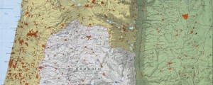 Central Intelligence Agency's topographic map of the West Bank and vicinity. From 1984. West Bank and vicinity TOPO Date: 1984 Author: CIA Dwnld: Full Size (6.3mb) Print Availability: See our Prints Page for more details pff This map isn't part of any series, but we have other maps of the Holy Land that you might want to check out. CIA map of the West Bank of the Jordan River and...