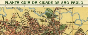Planta guia da cidade de São Paulo Cococi's Map of Sao Paulo (1913) Date: 1913 Author: Alexandre Mariano Cococi Dwnld: Full Size (9.54mb) Source: Library of Congress Print Availability: See our Prints Page for more details pff This map isn't part of any series, but we have other maps of Brazil that you might want to check out. An early-20th Century map of São Paulo [gmap] by Alexandre Mariano Cococi.