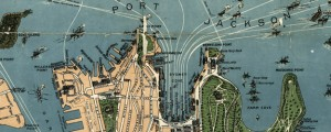 Robinson's aeroplane map of Sydney Robinson's aeroplane map of Sydney (1922) Date: 1922 Author: Robinson Dwnld: Full Size (14.01mb) Source: Library of Congress Print Availability: See our Prints Page for more details pff This map isn't part of any series, but we have other featured maps that you might want to check out. Fun-looking and quite expertly-rendered overhead map of Australia's most populous city: Sydney, NSW [gmap] in 1922. Now I've...