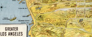Greater Los Angeles : the wonder city of America Greater Los Angeles : the wonder city of America (1932) Date: 1932 Author: K M Leuschner Dwnld: Full Size (21.71mb) Source: Library of Congress Print Availability: See our Prints Page for more details pff This map isn't part of any series, but we have other maps of California that you might want to check out. Stylized children's map of Los Angeles […]