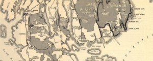 Guide Map of Acadia National Park Guide Map of Acadia National Park in 1949 Date: 1949 Author: John J Black Dwnld: Full Size (5.99mb) Source: Library of Congress Print Availability: See our Prints Page for more details pff This map isn't part of any series, but we have other maps of Maine that you might want to check out. Black's 1949 map of Acadia National Park [gmap].