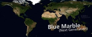 August, Blue Marble Next Generation NASA's Blue Marble, Next Generation (2004) Date: 2004 Author: NASA Dwnld: Full Size (19.93mb) Source: NASA Visible Earth Print Availability: See our Prints Page for more details pff This map isn't part of any series, but we have other maps made by Nasa that you might want to check out. Very high resolution (0.5km resolution) imagery of the planet Earth in the month of August;...