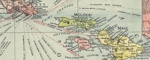 Rand McNally's map of the Islands of Hawaii. From 1912. Map of Hawaii Date: 1912 Author: Rand McNally Dwnld: Full Size (5.1mb) Print Availability: See our Prints Page for more details pff This map isn't part of any series, but we have other featured maps that you might want to check out. This Rand McNally map is looking a bit to, well, Rand McNally for me right at this moment....