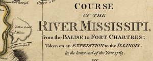 Survey of the lower Mississippi River by the British: Based on an earlier survey by the French. 1765. British Survey of the Mississippi River Date: 1765 Author: Liuet Ross Dwnld: Full Size (13.5mb) Print Availability: See our Prints Page for more details pff This map isn&#039;t part of any series, but we have other maps of exploration that you might want to check out. If I&#039;m interpreting the MARC record...