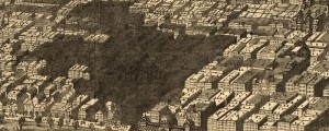 Map from Harpers magazine, showing the burnt district of Chicago in 1871. Chicago, showing the burnt district Date: 1871 Author: Harpers Dwnld: Full Size (7.1mb) Print Availability: See our Prints Page for more details pff This map isn&#039;t part of any series, but we have other Illinois maps that you might want to check out. Harper&#039;s Magazine&#039;s birdseye map of the burnt district of Chicago&nbsp;[gmap] in 1871. For more maps...